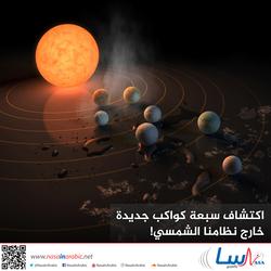 اكتشاف سبعة كواكب جديدة خارج نظامنا الشمسي!
