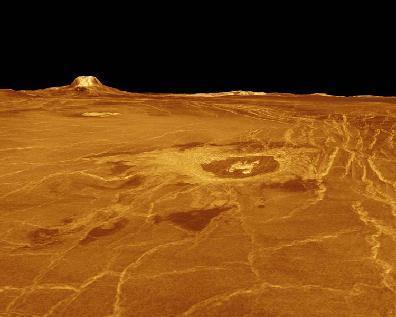 سطح كوكب الزهرة. الحقوق: JPL\NASA