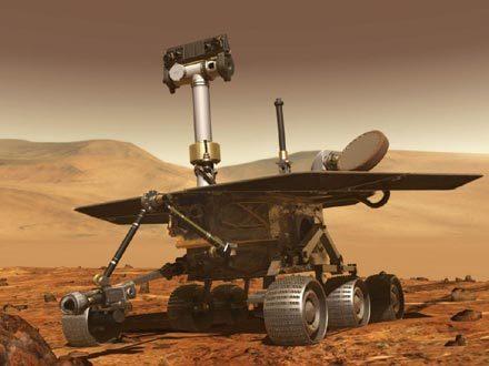 روفر واحد من الروبوتات التي تستكشف سطح المريخ
