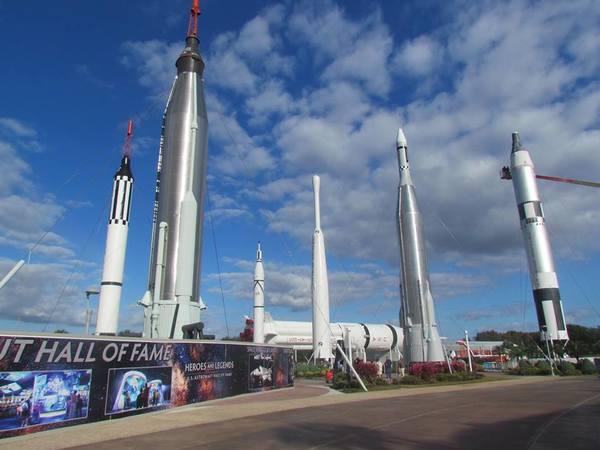 حديقة الصواريخ الفضائية