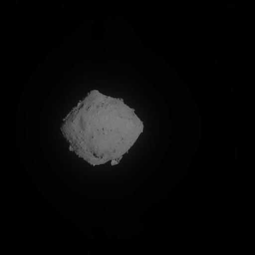 صورة التقطتها كاميرا الملاحة الخاصة بمركبة هايابوسا2 أثناء إجراء نشر MINERVA-II2 في 2 أكتوبر/تشرين الأول 2019.  حقوق الصورة: JAXA