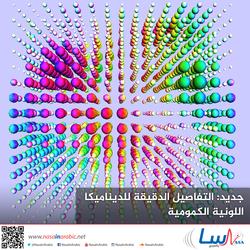 جديد: التفاصيل الدقيقة للديناميكا اللونية الكمومية