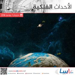 أهم الأحداث الفلكية خلال شهر حزيران/يونيو 2016