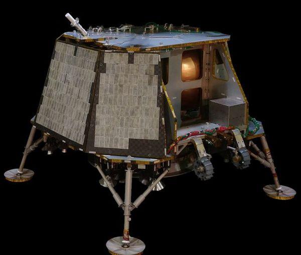 اقترحت شركة أوربت بيوند الموجودة في إديسون، نيوجيرسي، الطيران مع ما يزيد عن أربع حمولات إلى سهل بركاني في فوهات القمر.  حقوق الصورة: Orbit Beyond