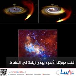 ثقب مجرتنا الأسود يبدي زيادة في النشاط