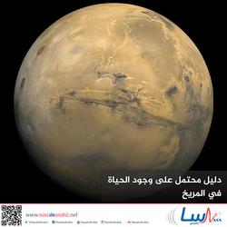 دليل محتمل على وجود الحياة في المريخ