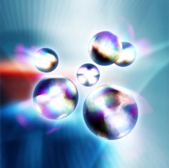 تحتوي ميكانيك الكم جسيمات غريبة مثل الكواركات المشاهدة في هذه الصورة. حقوق الصورة: PASIEKA/SPL