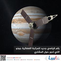 رقم قياسي جديد للمركبة الفضائية جونو التي تدور حول المشتري