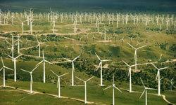 هل توفّر لنا مزارع الرياح المشابهة لهذه الوقود المستقبلي؟ بعض الدراسات تؤيد ذلك. حقوق الصورة: Comstock/Thinkstock