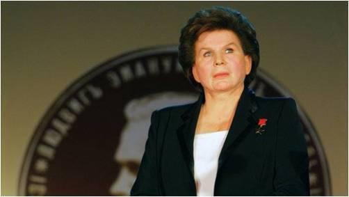 """فالنتينا تيريشكوفا Valentina Tereshkova، """"أول سيدة فضاء"""""""