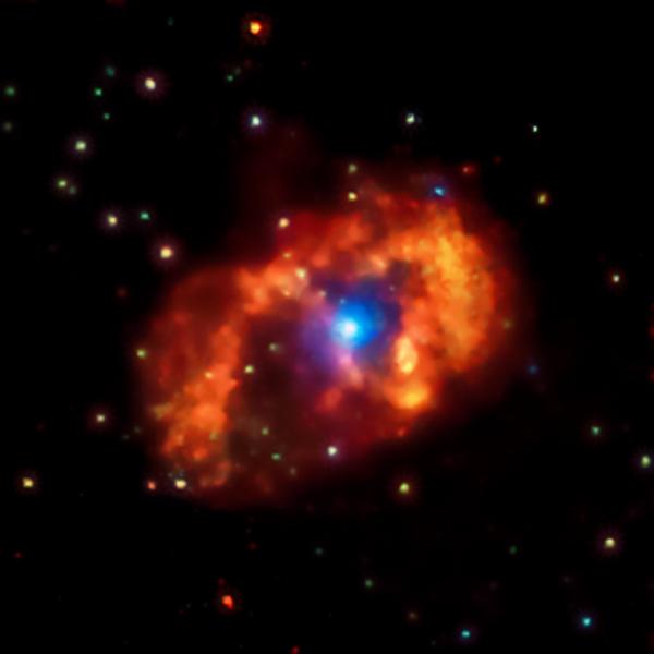 إيتا كارينا تلمع ببهاء في أشعة-إكس، في هذه الصورة  من مرصد شاندرا