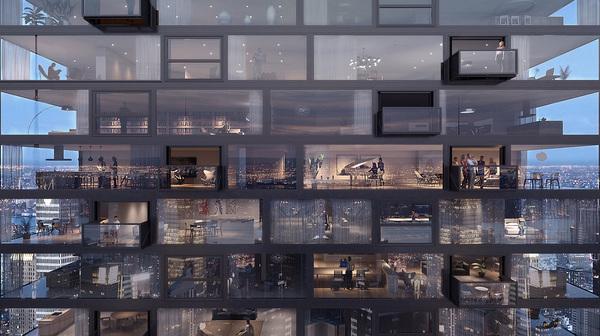 تصميم أركونيك لنوافذ المستقبل أسمتها نوافذ البلوفريم (Bloomframe) . حقوق الصورة لشركة أركونيك Arconic