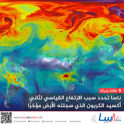 ناسا تحدد سبب الارتفاع القياسي لثاني أكسيد الكربون الذي سجلته الأرض مؤخرًا