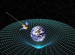 فقًا لنظرية النسبية العامة لأينشتاين ، فإن الأجسام فائقة الكتلة تحني الزمكان، حقوق الصورة: ناسا