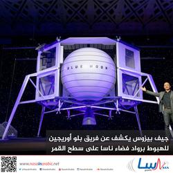 جيف بيزوس يكشف عن فريق بلو أوريجين للهبوط برواد فضاء ناسا على سطح القمر