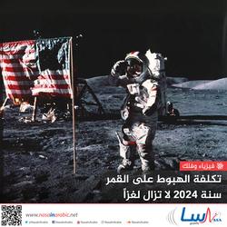 تكلفة الهبوط على القمر سنة 2024 لا تزال لغزاً