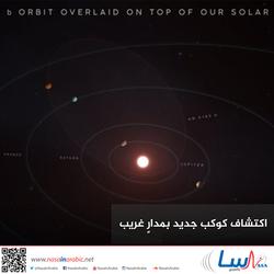 اكتشاف كوكب جديد بمدارٍ غريب