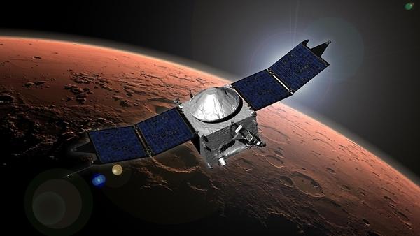 مفهوم المركبة الفضائية (مافن) لدراسة الغلاف الجوي المريخي وتطوره