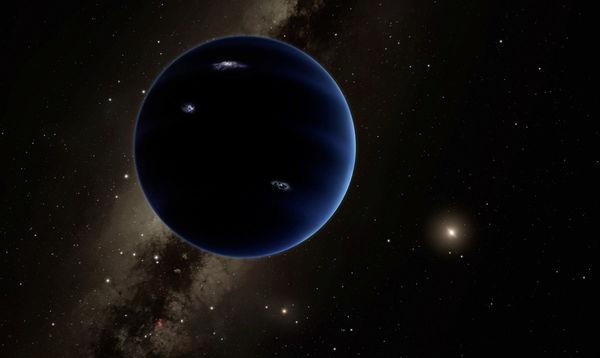 تصوُّر فني للكوكب التاسع، وهو عالم افتراضي كتلته أكبر من كتلة الأرض بحوالي 10 أضعاف، يُعتقد أنّ ذلك الكوكب يدور حول الشمس في مكانٍ بعيد وموجود في الجزء الخارجي من النظام الشمسي، ويؤكد الخبراء عدم صحة مخاوف المتشائمين بخصوص هذا الكوكب المتوقع.