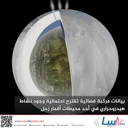 بيانات مركبة فضائية تقترح احتمالية وجود نشاط هيدروحراري في أحد محيطات أقمار زحل
