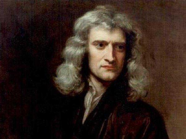 إسحاق نيوتن Isaac Newton حقوق الصورة: Wikimedia Commons