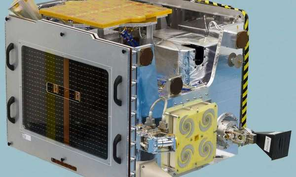 كاشف لانغتون النهائي لشدّة الأشعة الكونية على القمر الصناعي لوسيد.