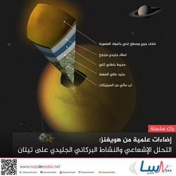 إضاءات علمية من هويغنز: التحلل الإشعاعي والنشاط البركاني الجليدي على تيتان