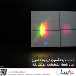 العلماء يكتشفون كيفية التمييز بين أشعة الفوتونات المتشابكة
