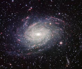 صورة لمجرة NGC6744 القريبة منا. حقوق الصورة: المرصد الأوروبي الجنوبي