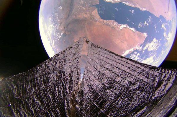صورة من لايت سايل2 لخليج عدن والقرن الإفريقي في 19/1/2020.حقوق الصورة: The Planetary Society