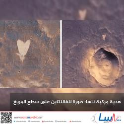 هدية مركبة ناسا: صورة للفالنتاين على سطح المريخ