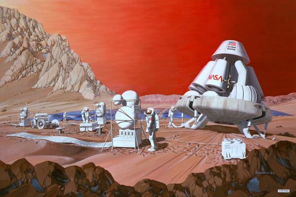 العيش على المريخ