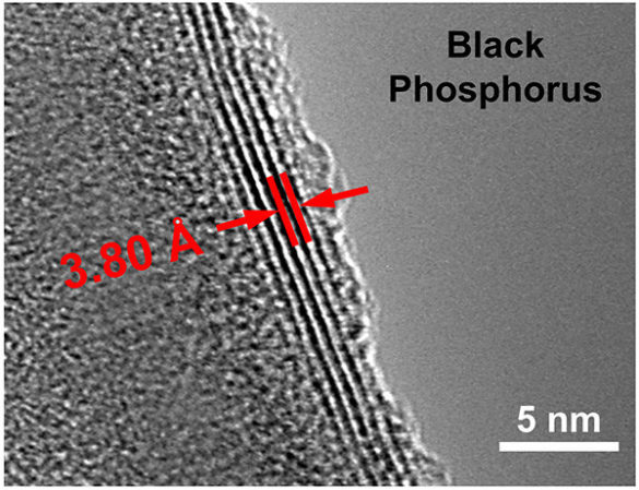 Black phosphorus: الفوسفور الأسود