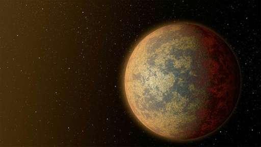 """تصور فني لوكالة ناسا لشكل الكوكب """"HD219134b"""""""