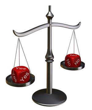 يمكن استخدام نظرية القرار لفهم حساب الاحتمالات