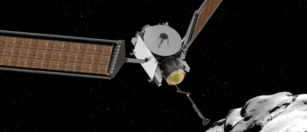 """تتطلب بعثة سيزار """"CAESAR"""" (إرسال عينة من الاكتشاف البيولوجي للمذنب) مهمة الحصول على عينة من نواة مذنب تشوريوموف-جيراسيمينكو، وإرساله بأمان إلى الأرض. وتتكون المذنبات في العادة على مواد من النجوم القديمة، والغيوم ما بين النجمية، ومواد دالة على ولادة نظامنا الشمسي، وستكشف عينة بعثة سيزار عن كيفية مساهمة هذه المواد في نشأة الأرض في وقت مبكر، بما في ذلك أصل الحياة والمحيطات على كوكب الأرض. المصدر: ناسا"""