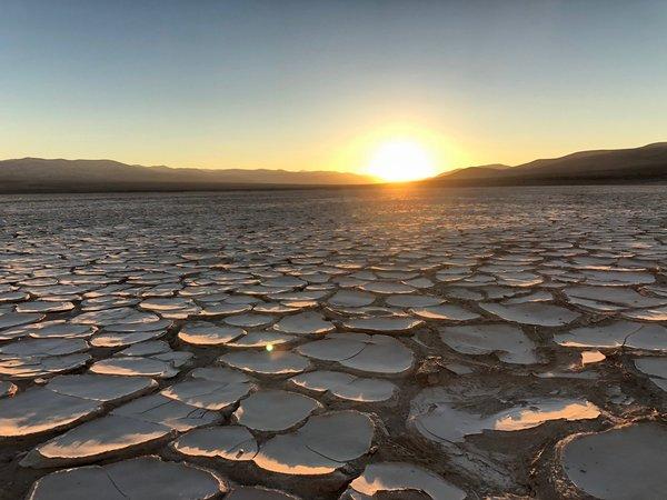 صورة صحراء أتاكما  : حقوق الصورة (NASA/Frank Tavares)