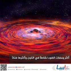أكثر ومضات الضوء نشاطاً في الكون وأكثرها فتكاً