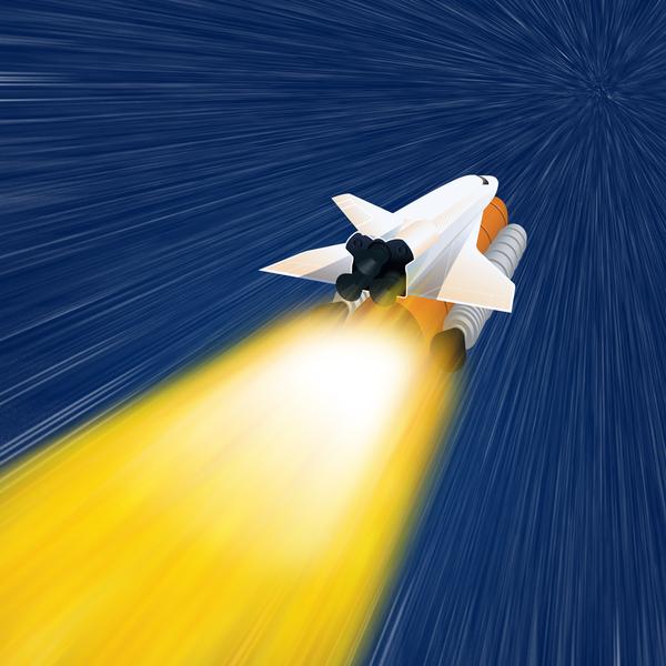 عملية إطلاق صاروخ