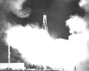 إطلاق سبوتنيك Sputnik 3 تشرين الأول/أكتوبر 2017.