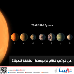 هل كواكب نظام ترابيست-1 حاضنة للحياة؟
