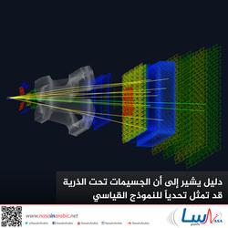 دليل يشير إلى أن الجسيمات تحت الذرية قد تمثل تحدياً للنموذج القياسي