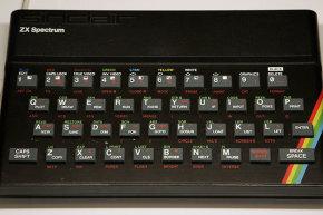 حاسوب سنكلير ZX Spectrum يعرض في متحف العلوم في لندن، 2006.حقوق الصورة: GETTY IMAGES