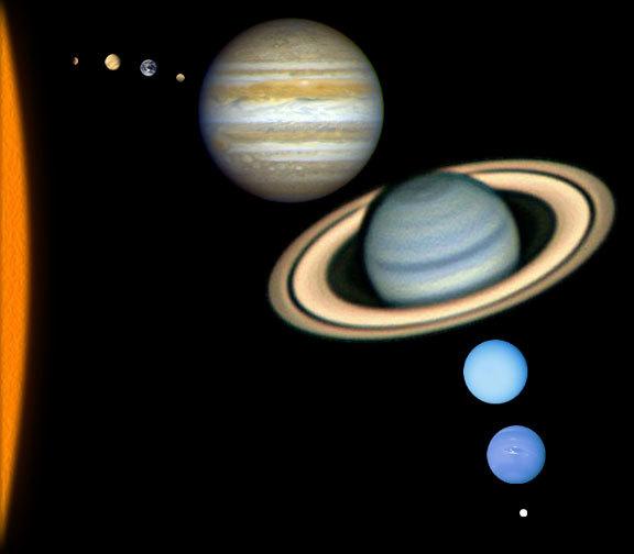 نظرة عامة على نظامنا الشمسي
