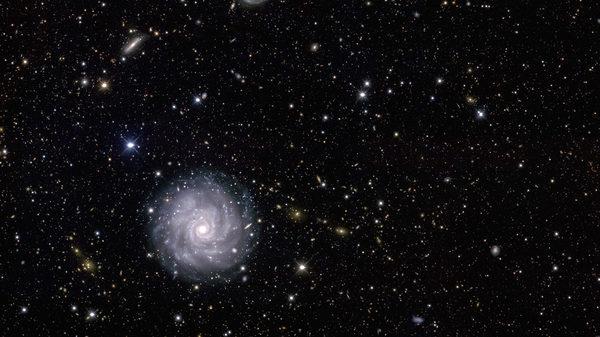 NGC-1703 مسح الطاقة المظلمة