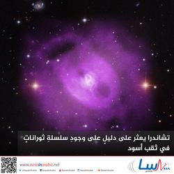 سلسلة من الانفجارات في ثقب أسود