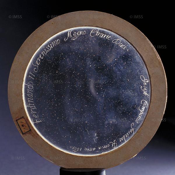 جوسيبي كامباني (1635-1715) عدسة شيئية، روما، 1665 فلورنسا، معهد ومتحف تاريخ العلوم، العنصر 2587