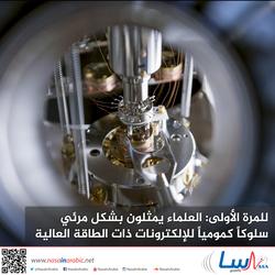 للمرة الأولى: العلماء يمثلون بشكل مرئي سلوكاً كمومياً للإلكترونات ذات الطاقة العالية