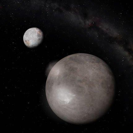 صورة: بلوتو وشارون Image credit: NASA