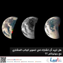 هل تريد أن تشارك في تصوير كوكب المشتري مع جونوكام ؟